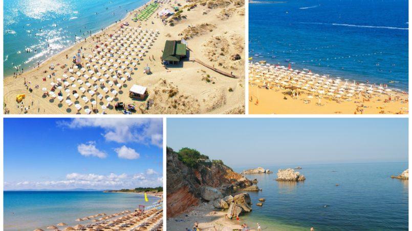 Best beaches on the Bulgarian Black sea south coast