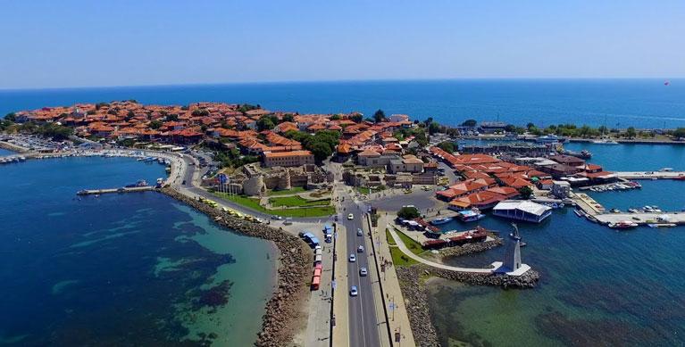 Nessebar, coastal town, Bulgaria