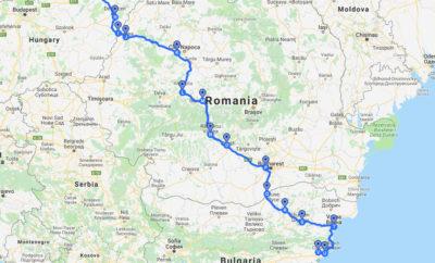Samochodem z Polski do Bułgarii