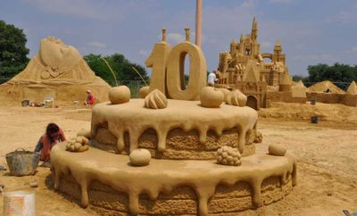 Sand Sculptures Festival in Burgas